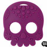 Sugar Skull Teething Toy Violet - Bella Mama