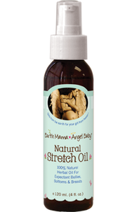 Natural Stretch Oil - Pregnant Mama