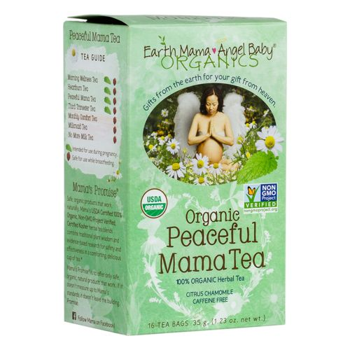 EARTH MAMA ORGANIC PEACEFUL MAMA/STRESS LESS TEA