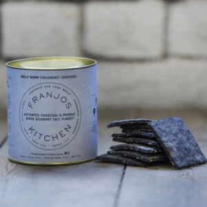 Pregnancy Crackers - Activated Charcoal & Salt Flakes