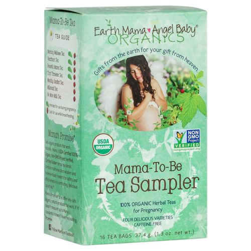 MAMA-TO-BE TEA SAMPLER FROM EARTH MAMA