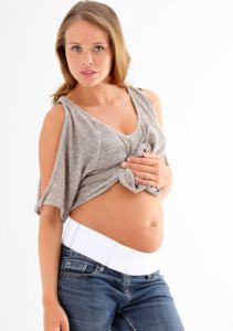 Maternity Support Belt one - White