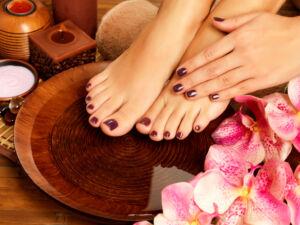 Pedicure Manicure at Spa - Bella Mama