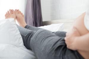 Pregnant Woman Swollen Feet