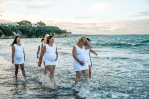 Yoga Photoshoot at Beach Seven
