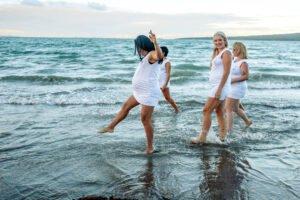 Yoga Photoshoot at Beach Four