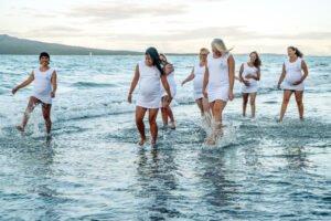 Yoga Photoshoot at Beach Two