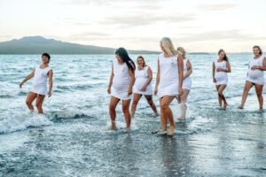 Yoga Photoshoot at Beach one