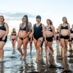 Beach Walk Photoshoot of Pregnant Mamas