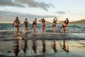 Pregnancy Photoshoot in beach by pregnant women