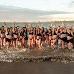 Pregnant Women Raising Hands Photoshoot