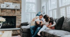 Family Bonding Canva Photo